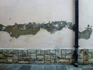 umidità di risalita - pittura