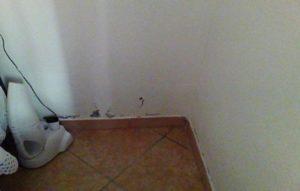 umidità di risalita sulle pareti
